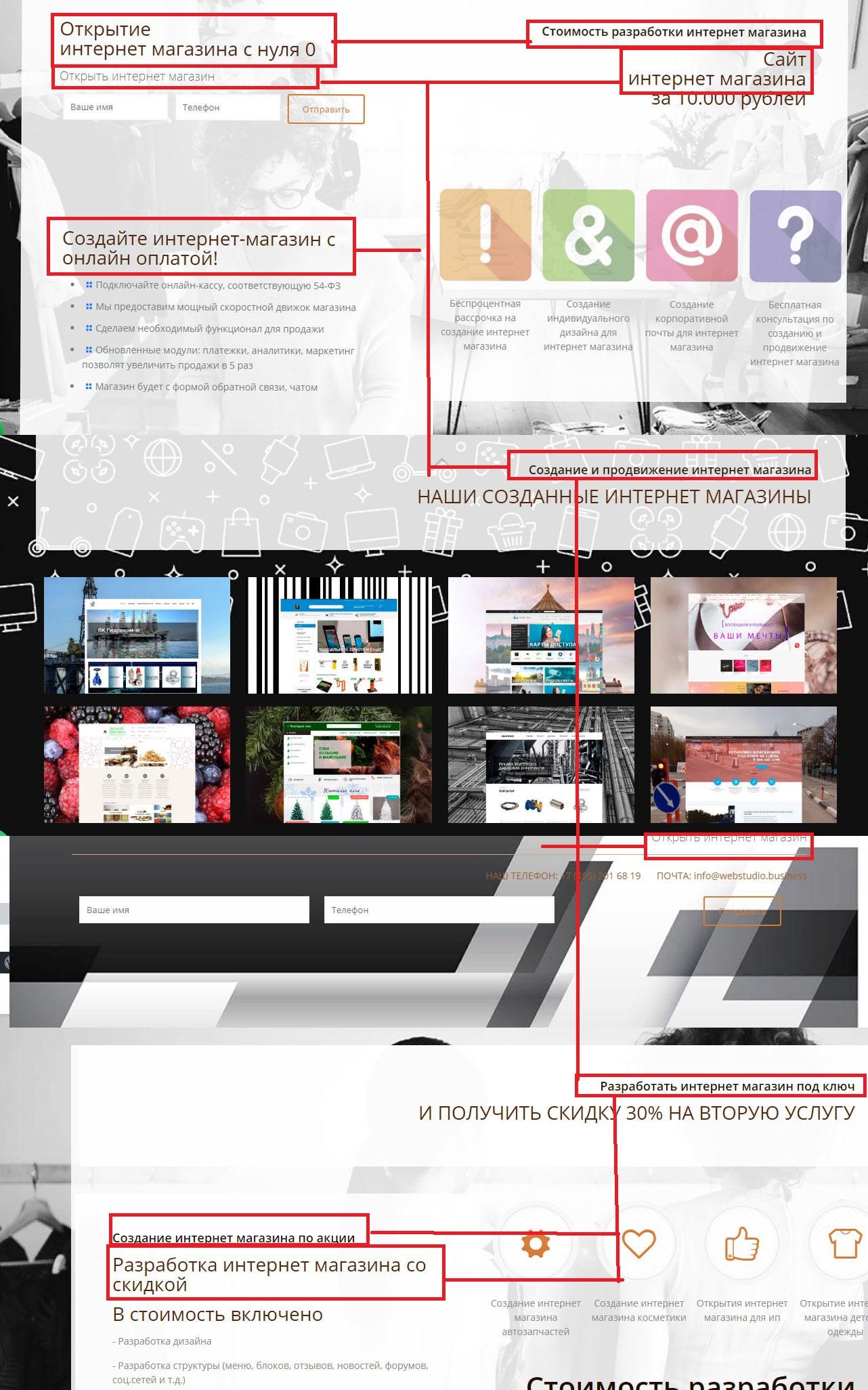 Верстка-страница-сайта-сео